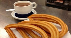 Barcelona if it is raining - Chocolate with Churros