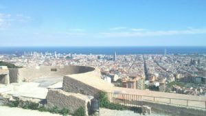 Bunker's panorama Barcelona, a stunning view